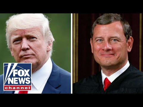 Trump hits back at Chief Justice Roberts' rebuke