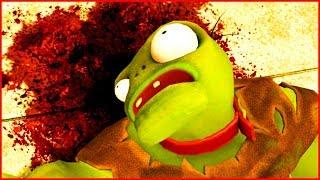 УНИЧТОЖИЛ ГАРГАНТЮА в Гарис Мод на Растение против зомби Garry's Mod Plants vs Zombies