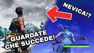 Nuove SKIN and VEICOLI your FORTNITE with the SEASON 7! Arrive the neve, snowboard it and so much altro!