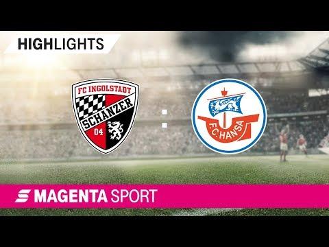 FC Ingolstadt - Hansa Rostock | Spieltag 6, 19/20 | MAGENTA SPORT