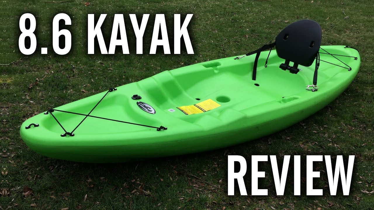 Clearwater Mist / Future Beach Eclipse 8 6 Kayak Review