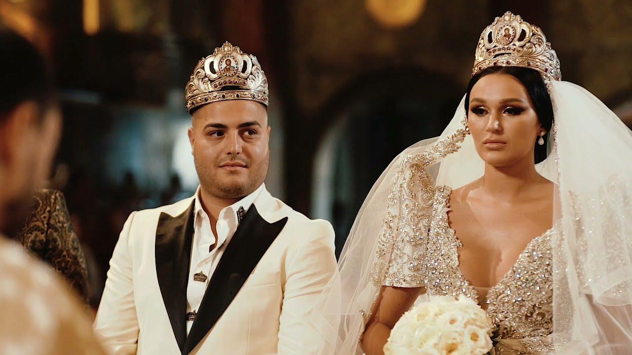 A Fairytale Wedding Dress for This Magical Wedding In Bucharest, Romania