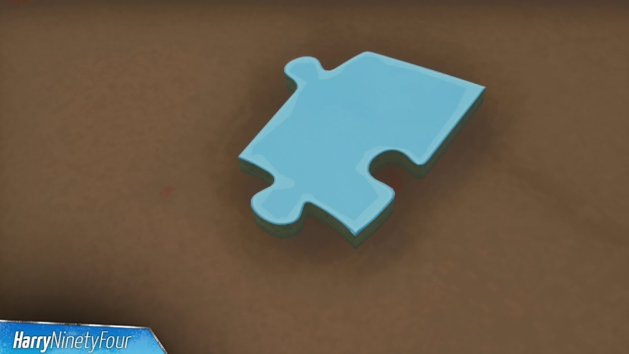 fortnite battle royale all jigsaw puzzle pieces locations guide season 8 challenge - jigsaw puzzles fortnite locations season 8