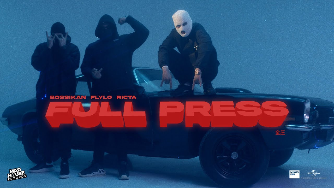 Download Bossikan, Fly Lo, Ricta  - Full Press (Official Music Video)
