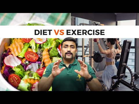 DIET : EXERCISE – THE STUPID RATIO