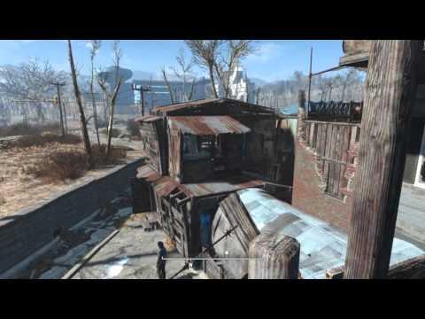 Fallout 4 - Jamaica Plain Market Town