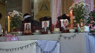 Families mourn Laos air disaster victims