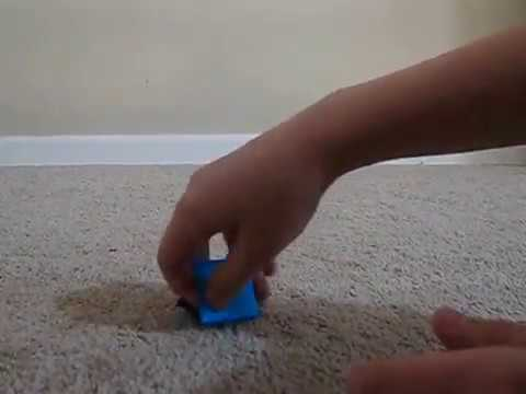 how to fold an origami FIDGET TOY!!!!!!!!