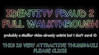 Roblox | Identity Fraud 2 | full walkthrough