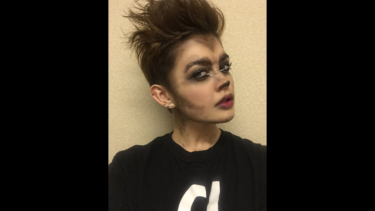 Drugstore Wolf Makeup Tutorial