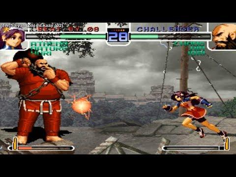 KoF 2002 - [TW]Saiyan (Taiwan) vs kaav (South Korea) キング オブ ファイターズ  2002