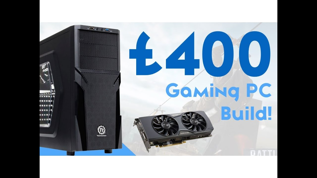 how to build a gaming desktop 2016