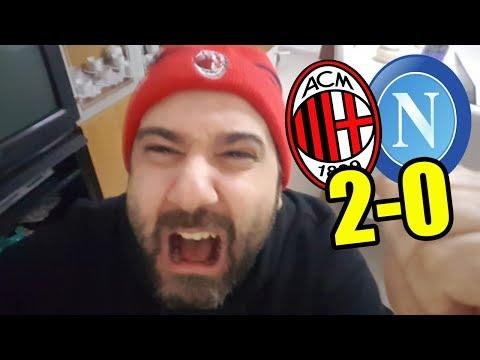 PIATEK INGRAVIDAMI    Milan - Napoli 2-0 Coppa Italia