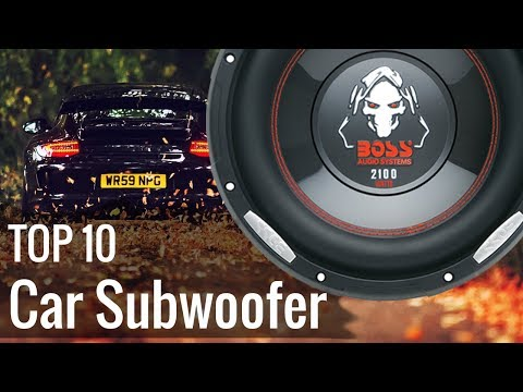 Best Car Subwoofers 2017