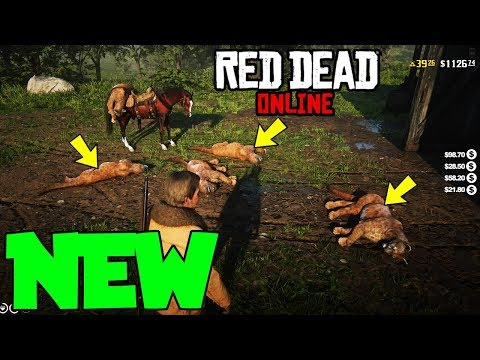 The ONLY WORKING SOLO Red Dead Online Money Glitch... (RDR 2 Online Money Glitch)