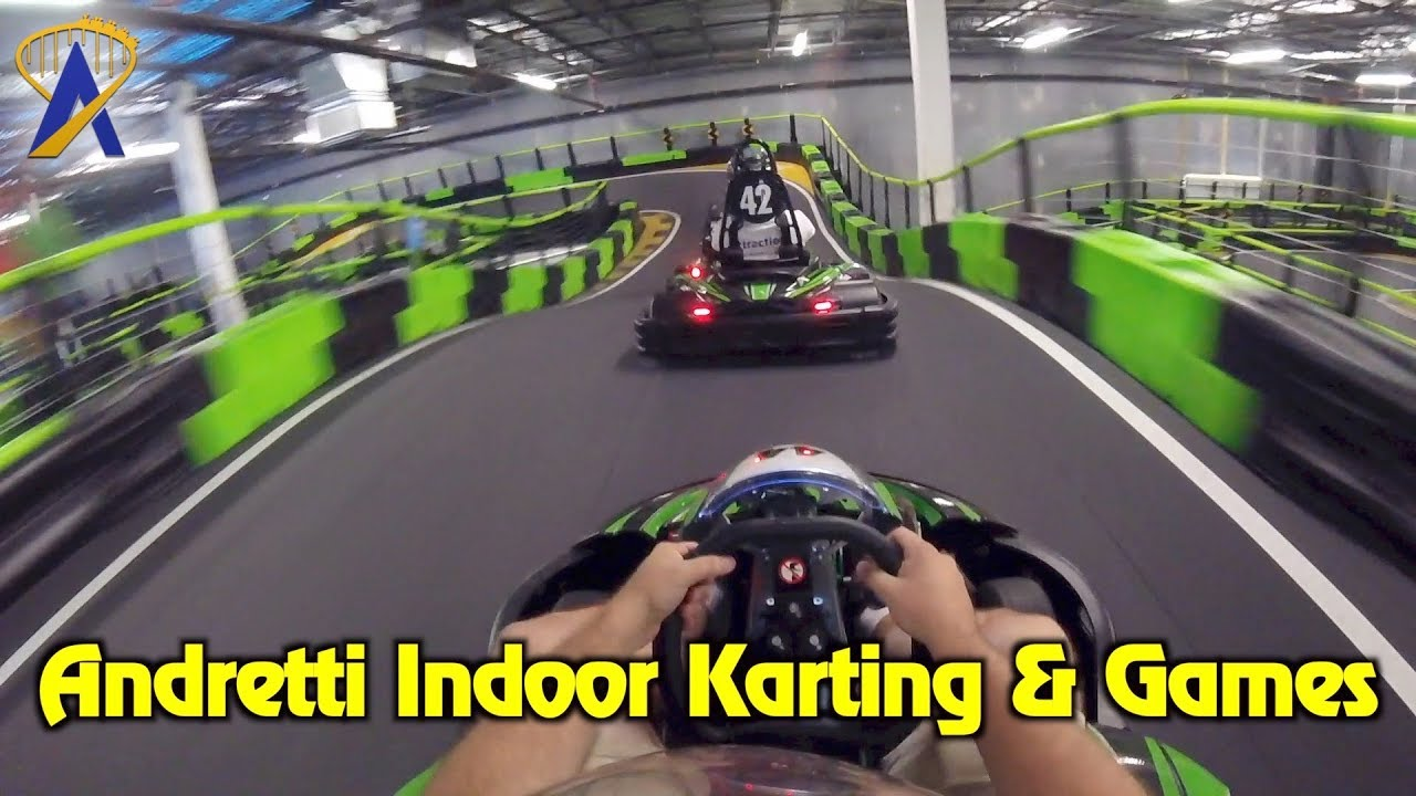 Put The Pedal To The Metal At Andretti Indoor Karting