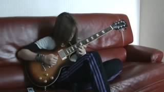Le parrain Godfather  Guitare Electrique by Tina S (14 years old girl)