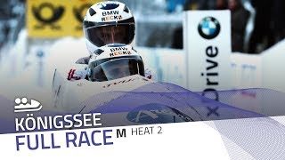 KÖnigssee | BMW IBSF World Cup 2017/2018 - 2-Man Bobsleigh Heat 2 | IBSF Official