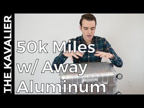 Away Aluminum Carry-On Review - 50k Miles Traveled