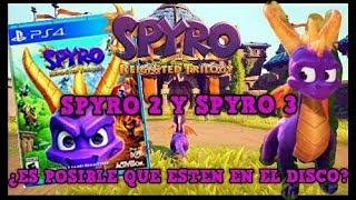 ¡Activision podría incluir los 3 juegos de Spyro the dragón en físico en Spyro: Reignited Trilogy!