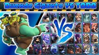 Duende Gigante VS TODO | Clash Royale | Kamikaze