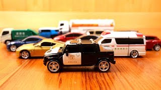 Transform Car To Robot Toys - Police Car, Garbage truck, Ambulance, Lorry Truck Video for Kids