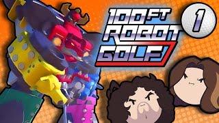 100ft robot golf putt putt robots part 1 game grumps vs