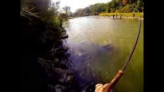 CHROME CHINOOK SALMON ROD EXPLODES ON 35 POUNDER GETBITNOW HD EXCLUSIVE