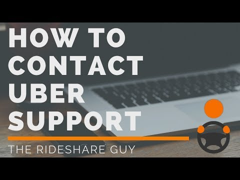 How To Contact Uber Support