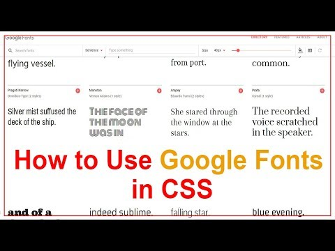 How To Use Google Fonts In Website Easy Way In Hindi