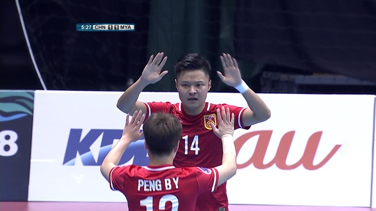 Video: Futsal Trung Quốc vs Futsal Myanmar