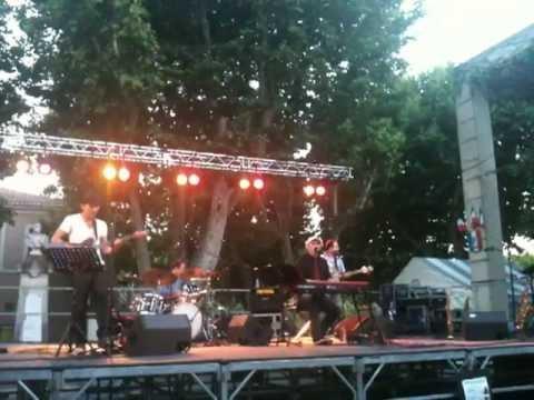 """David Carion """"A rain of music"""" live au festival de Rousset"""