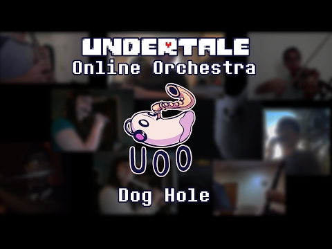 Dog Hole - Undertale Online Orchestra Cover : Undertale