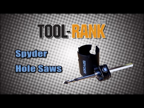 Quick Clip: Spyder Rapid Core Eject Hole Saw Arbor