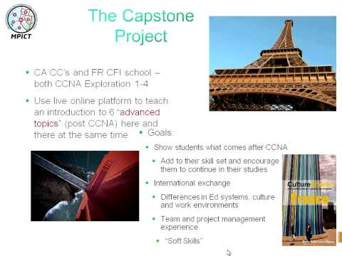 International Collaboration CCNA Capstone (MPICT)