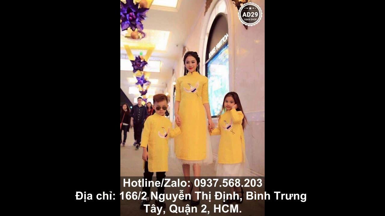 Áo dài cách tân cho bé – Xưởng may áo dài cách tân trẻ em 2019