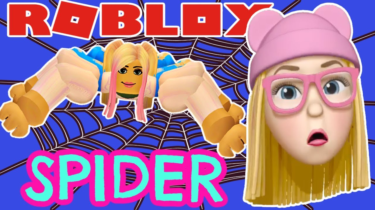Carrie Plays Roblox Spider with Fizzy