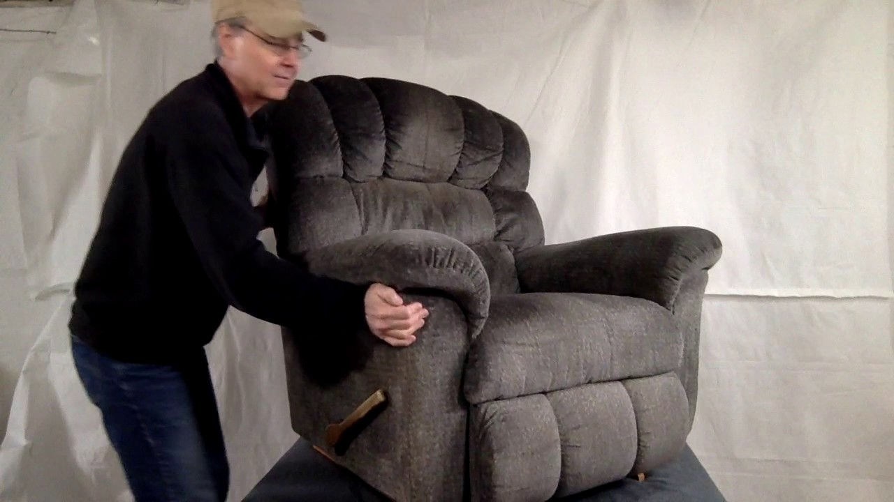 pop up recliner chairs dining chair replacement seat covers how to adjust tilt back tension on a la z boy youtube