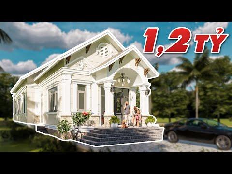 🏡 Mẫu Nhà Cấp 4 Tân Cổ Điển Đẹp Xuất Sắc Tại Thới Bình, Cà Mau