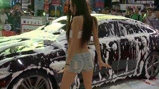 Download Video Hot Asian Girls Car Wash Dance MP3 3GP MP4
