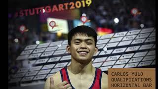 Carlos Edriel Yulo  (PHI) Qualifications Round- 2019 Artistic Worlds, Stuttgart Germany