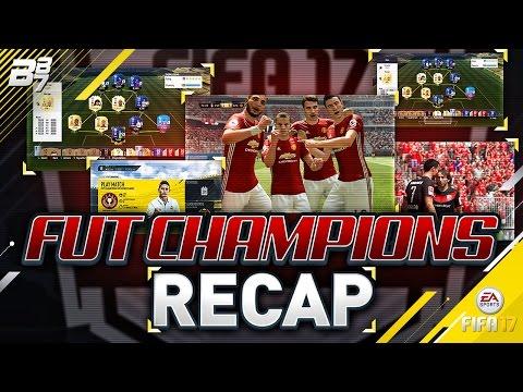 FUT CHAMPIONS RECAP! THE GUIDE TO SUCCESS | FIFA 17 ULTIMATE TEAM