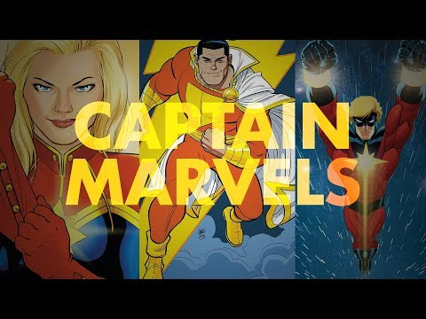 Captain Marvel(s) | A Quick History Of Carol Danvers, Shazam!, And Mar-Vell
