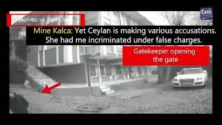 Security Camera footage refuting Ceylan Özgül's so-called escape scenario