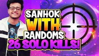 26 SOLO KILLS    SANHOK MASSACRE    PUBGM WITH SOUL VIPER