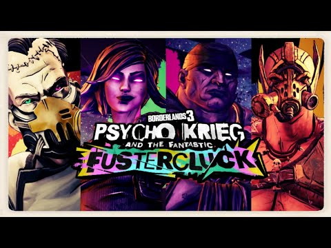 Borderlands 3 Psycho Krieg and the Fantastic Fustercluck Boss Fight |
