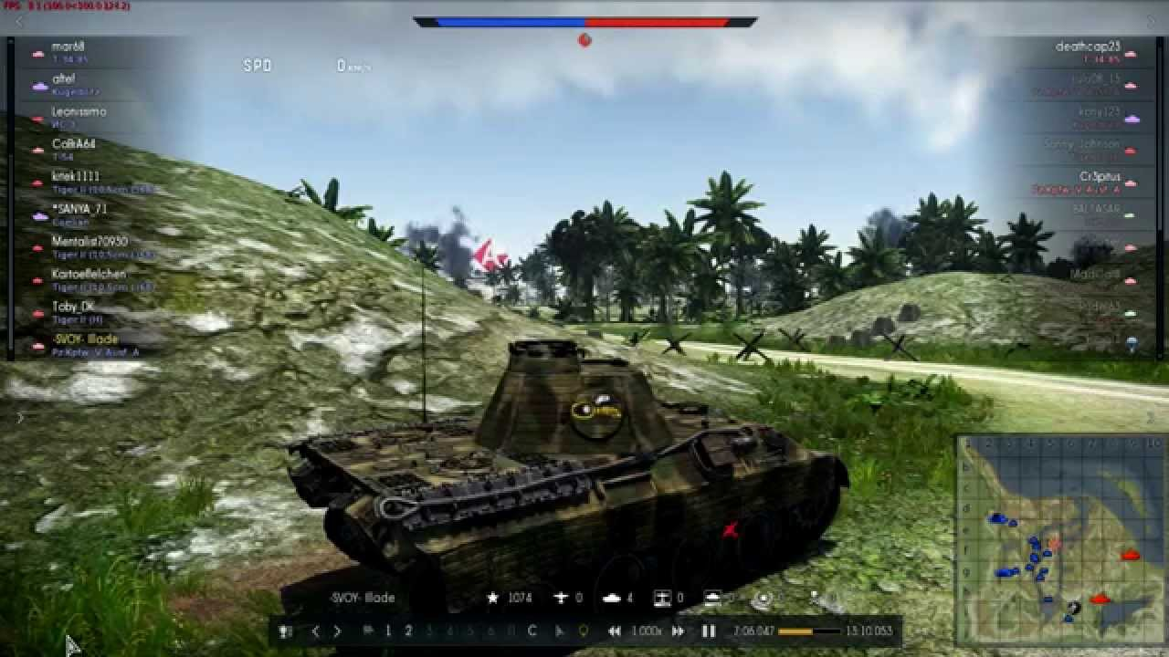 пантера g war thunder