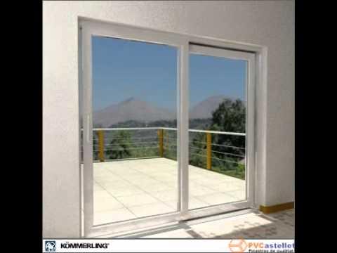 Pvcastellet ventana de pvc k mmerling corredera - Precio ventanas pvc kommerling ...