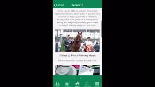 Tech Tutorial: Churchill Downs Racetrack App screenshot 2