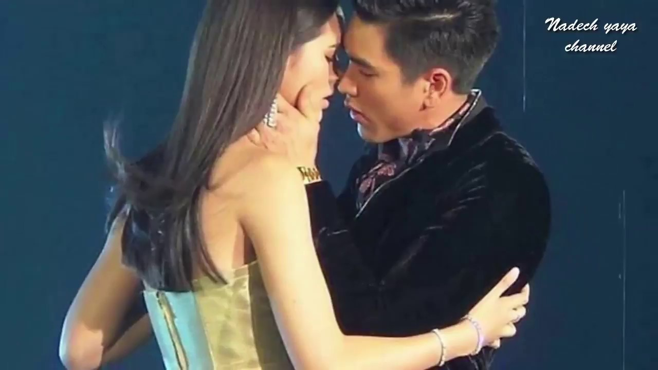 Nadech Yaya- Kiss moment on Love is in the air Ch3 charity